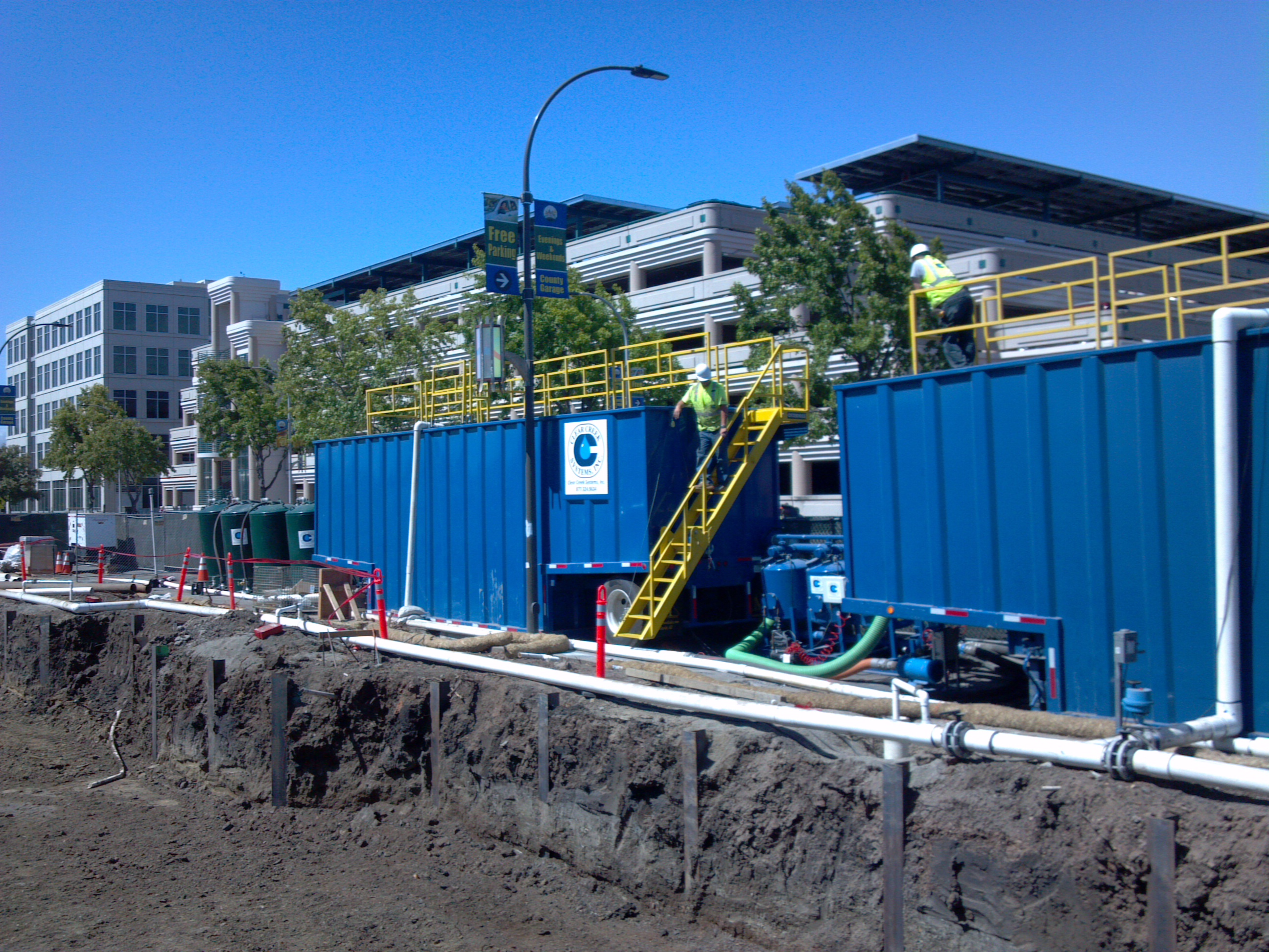 Rental Cost Dewatering Treatment Systems On Site Water Treatment